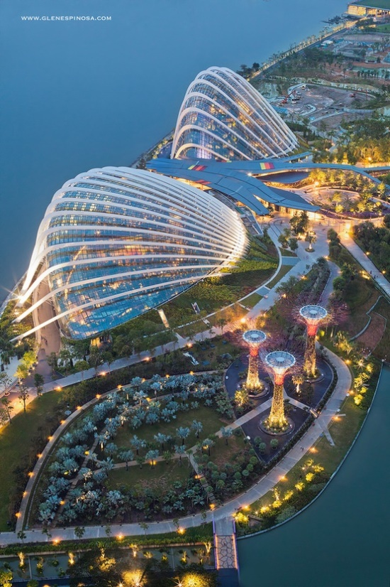 Gardens by the Bay, Singapore « worlds beautiful places
